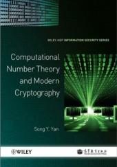 Okładka książki Computational Number Theory and Modern Cryptography Song Yan