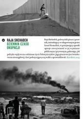 Okładka książki Dziennik czasu okupacji Raja Shehadeh