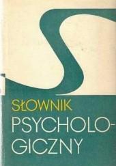 Okładka książki Słownik psychologiczny Włodzimierz Szewczuk