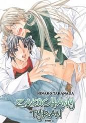 Okładka książki Zakochany Tyran 4 Hinako Takanaga