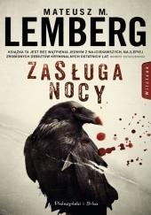 Okładka książki Zasługa nocy Mateusz M. Lemberg