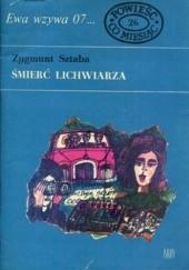 Okładka książki Śmierć lichwiarza Zygmunt Sztaba