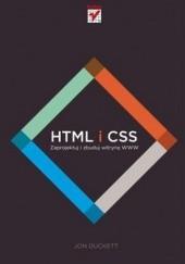 Okładka książki HTML i CSS. Zaprojektuj i zbuduj witrynę WWW Jon Duckett