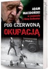 Okładka książki Pod czerwoną okupacją Anna Zechenter