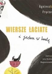 Okładka książki Wiersze łaciate i jeden w kratę Agnieszka Frączek,Jola Richter-Magnuszewska