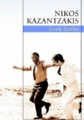 Okładka książki Grek Zorba Nikos Kazandzakis