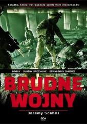 Okładka książki Brudne wojny Jeremy Scahill