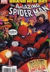 Okładka książki Amazing Spider-Man Vol 1# 563 - Brand New Day: So Spider-Man Walks into a Bar and... Bob Gale,Mike McKone
