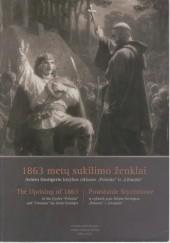 Okładka książki 1863 metų sukilimo ženklai Arturo Grottgerio kūrybos cikluose