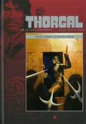 Okładka książki Thorgal: Trzej starcy z kraju Aran Grzegorz Rosiński,Jean Van Hamme