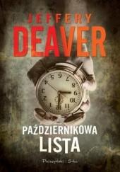 Okładka książki Październikowa lista Jeffery Deaver