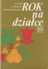 Okładka książki Rok na działce praca zbiorowa