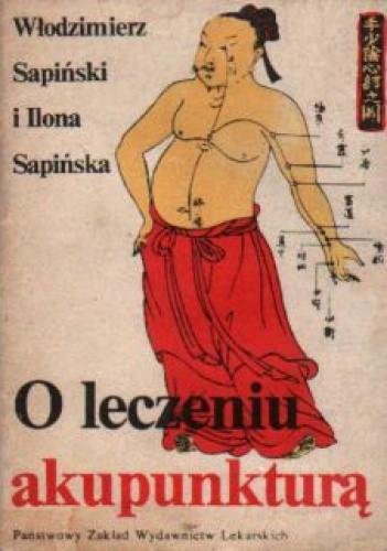 Okładka książki O leczeniu akupunkturą