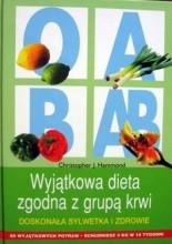 Okładka książki Wyjątkowa dieta zgodna z grupą krwi. Doskonała sylwetka i zdrowie