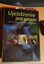 Okładka książki Ujeżdżenie jest proste Johann Hinnemann