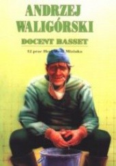 Okładka książki Docent Basset. 12 prac Herkulesa Miziaka