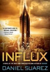 Okładka książki Influx Daniel Suarez
