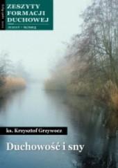 Okładka książki Duchowość i sny Krzysztof Grzywocz