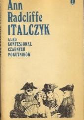 Okładka książki Italczyk albo Konfesjonał Czarnych Pokutników tom 3 Ann Radcliffe