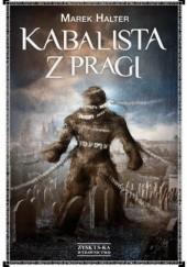 Okładka książki Kabalista z Pragi Marek Halter