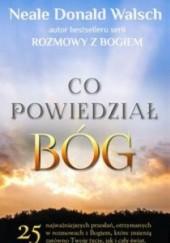 Okładka książki Co powiedział Bóg Neale Donald Walsch
