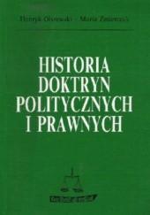 Okładka książki Historia doktryn politycznych i prawnych Henryk Olszewski,Maria Zmierczak