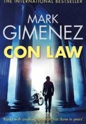 Okładka książki Con Law Mark Gimenez
