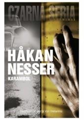 Okładka książki Karambol Håkan Nesser