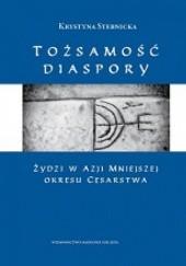 Okładka książki Tożsamość diaspory. Żydzi w Azji Mniejszej okresu cesarstwa Krystyna Stebnicka