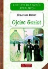 Okładka książki Ojciec Goriot Honoré de Balzac