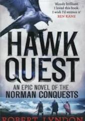 Okładka książki Hawk Quest Robert Lyndon