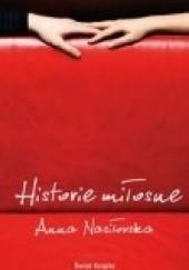 Okładka książki Historie miłosne Anna Nasiłowska