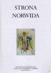 Okładka książki Strona Norwida Piotr Chlebowski