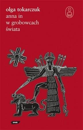 Okładka książki Anna In w grobowcach świata Olga Tokarczuk