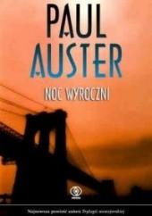 Okładka książki Noc wyroczni Paul Auster