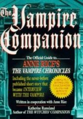 Okładka książki The Vampire Companion Katherine Ramsland
