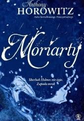 Okładka książki Moriarty Anthony Horowitz