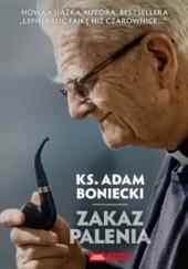 Okładka książki Zakaz palenia Adam Boniecki