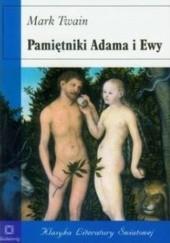 Okładka książki Pamiętniki Adama i Ewy Mark Twain