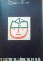 Okładka książki W służbie najjaśniejszego pana Roman Turek