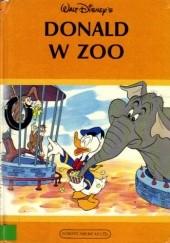 Okładka książki Donald w zoo Walt Disney