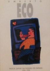 Okładka książki Trzecie zapiski na pudełku od zapałek 1994-1996