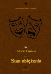 Okładka książki Stan oblężenia Albert Camus