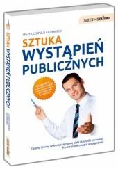 Okładka książki Sztuka wystąpień publicznych Leszek Leopold Kazimierski