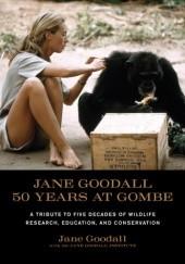 Okładka książki Jane Goodall: 50 Years at Gombe Jane Goodall