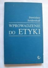 Okładka książki Wprowadzenie do etyki
