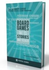 Okładka książki Boardgames That Tell Stories Ignacy Trzewiczek