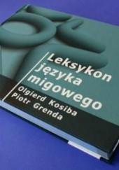Okładka książki Leksykon języka migowego Olgierd Kosiba