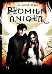 Okładka książki Płomień anioła Lee Weatherly