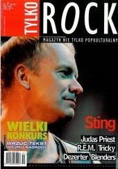 Okładka książki Tylko Rock, nr 7 (119)/2001 Redakcja magazynu Teraz Rock